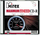 Диск CD-R Mirex 700 Mb, 52х, Maximum, Slim Case (1), (1/200)