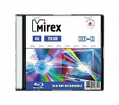 Диск BD-R Mirex 25 Gb, 4x, Slim Case (1), (1/50)