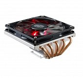 Кулер Cooler Master CPU Cooler GeminII M5 LED, 500 - 1600 RPM, 130W, Low profile, Full Socket Support RR-T520-16PK